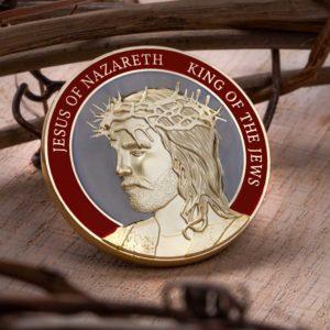 crucifixion coin