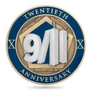 911 commemorative coin